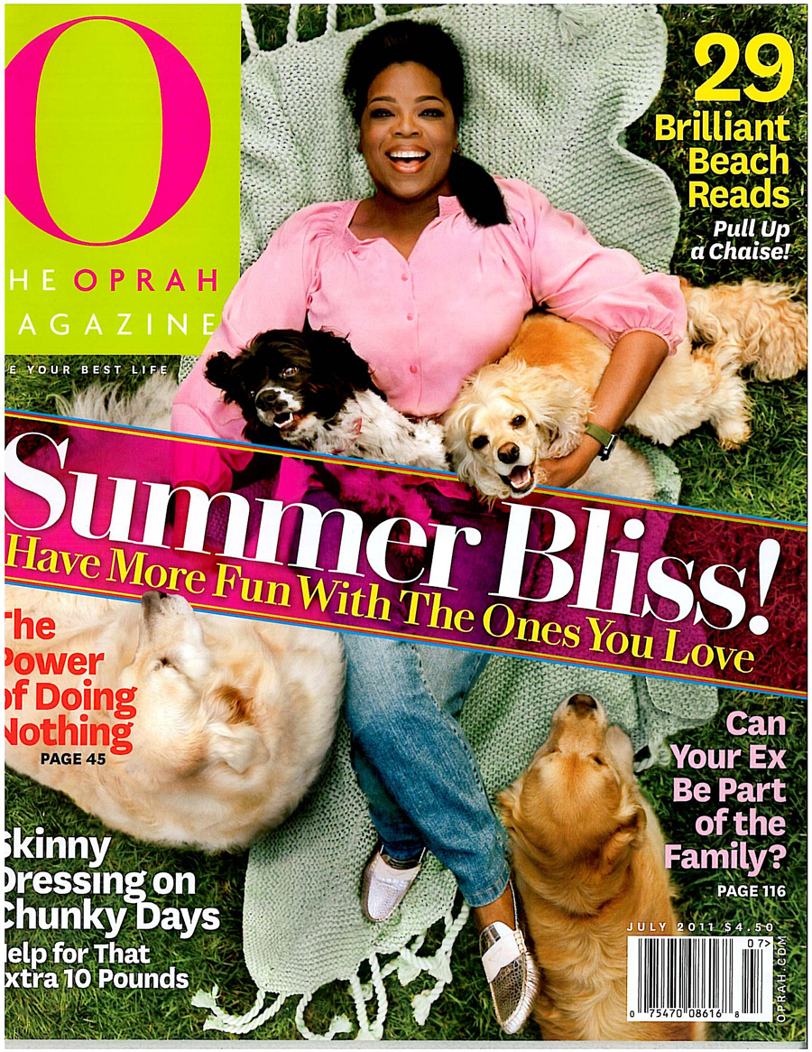 Oprah July 2011 Magazine Cover S'well Press