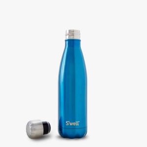 Ocean glitter shiny blue sporty gift stainless steel non toxic wine water s'well best drinking bottle