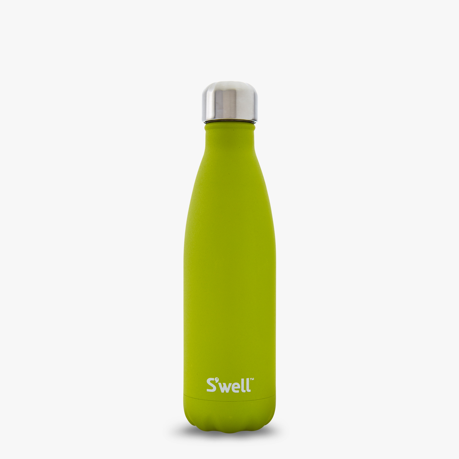 peridot bright green matte swells water bottle