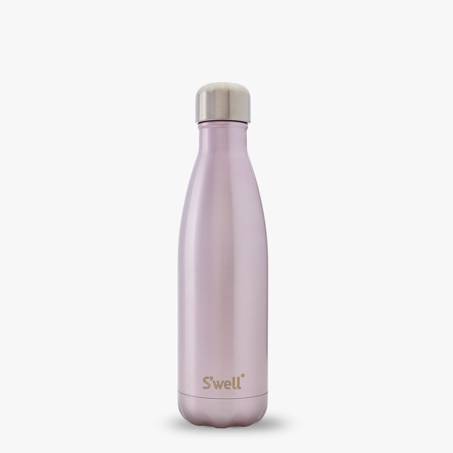 Pink champagne girl women gift swell BPA free water bottle