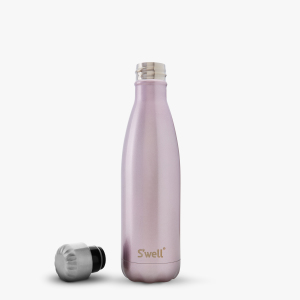 Pink champagne girl women gift swell water bottle