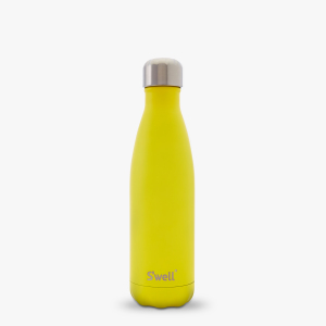 yellow zink cool gift swell cold wine water tea coffee insulated bottle