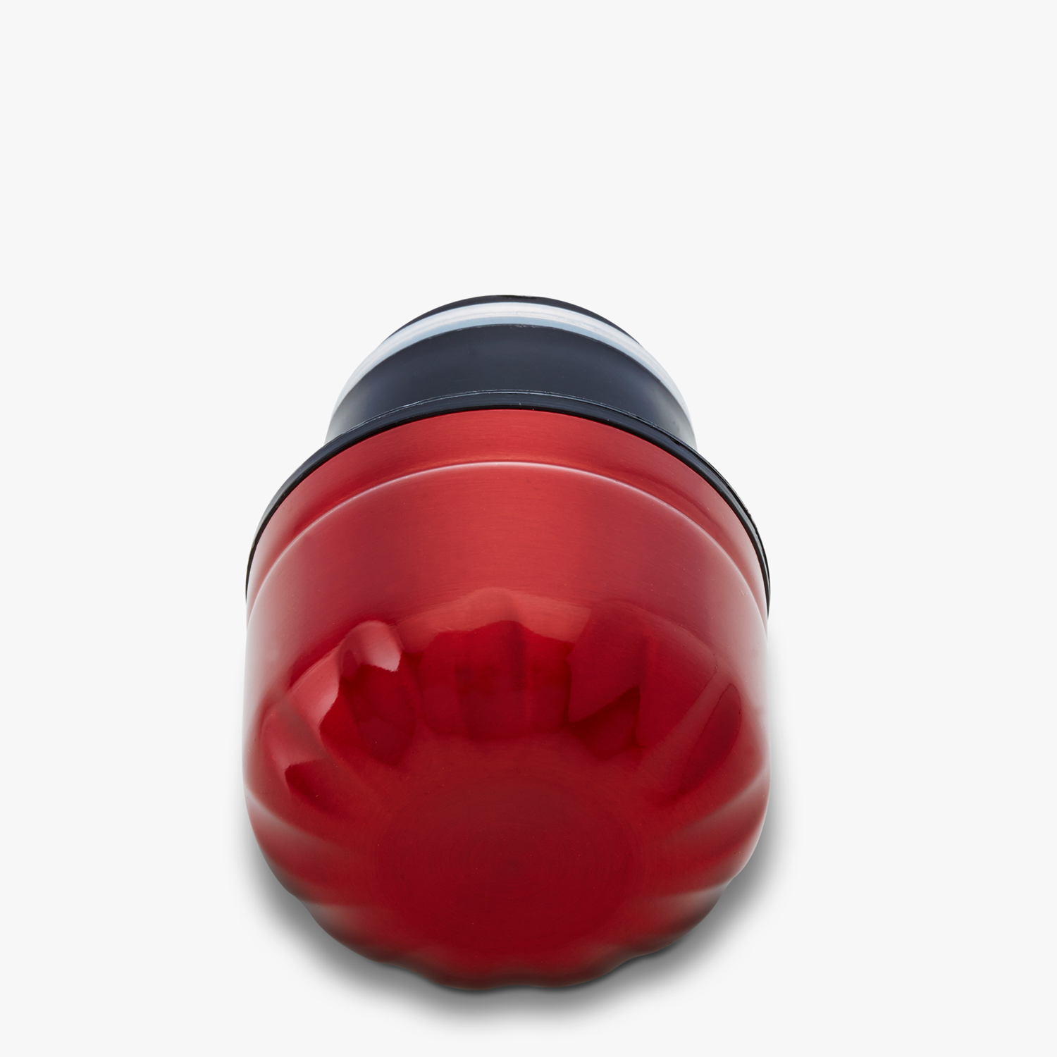 swell reusable water bottle red cap