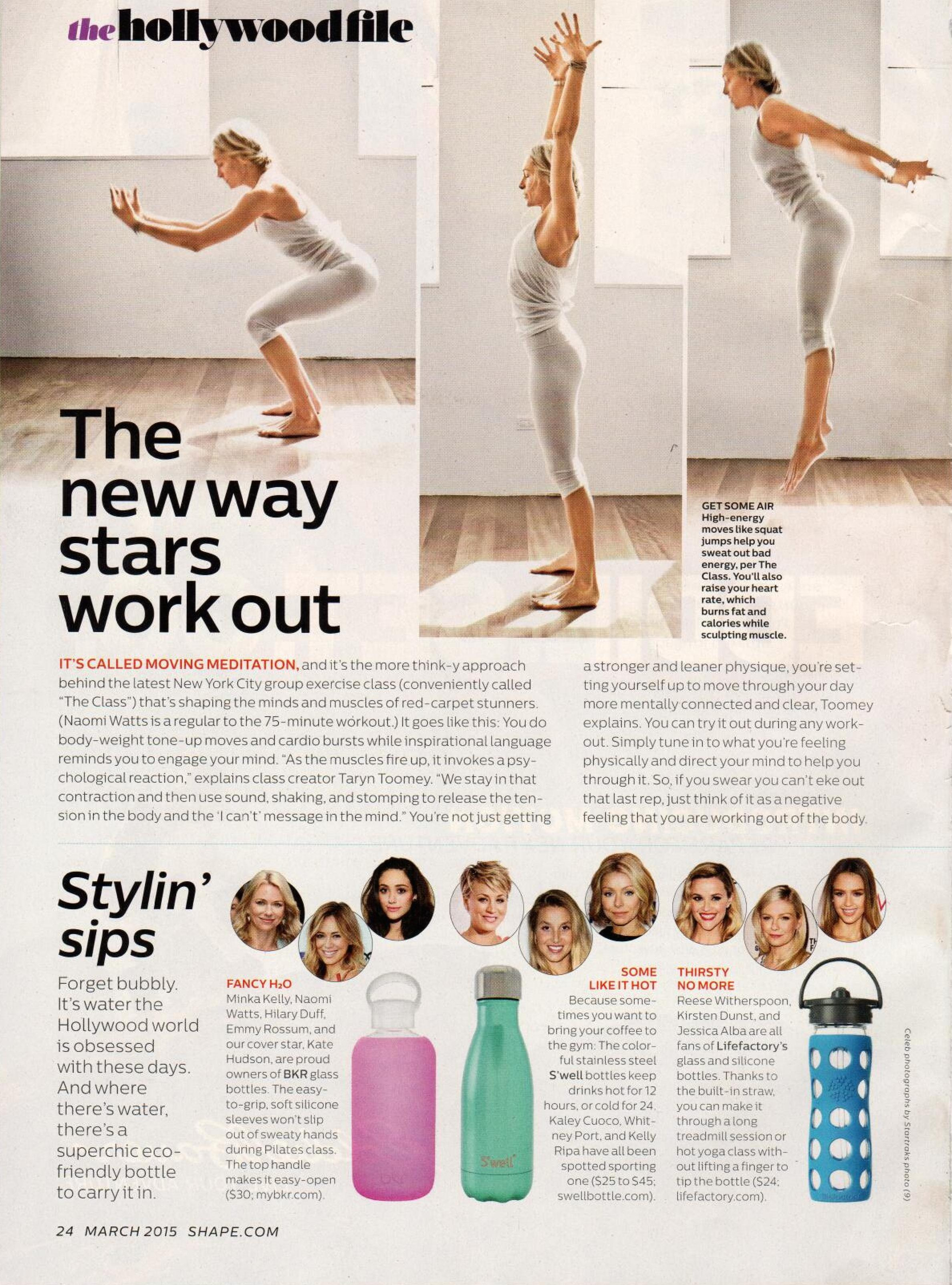 Shape Magazine March 2015 Page