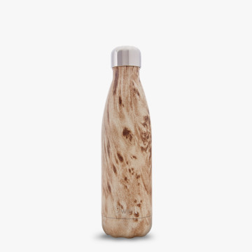 17oz Blonde Wood grain water bottle
