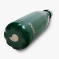 17oz Stainless Steel Water Bottle Dark Green