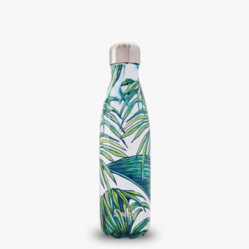 Waikiki S'well Water Bottle with leaves from the Resort Collection