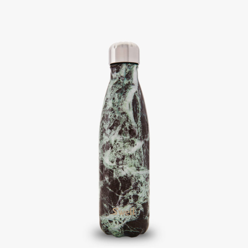 Baltic Green Marble Eco Friendly S'well Water Bottle from the Elements Collection