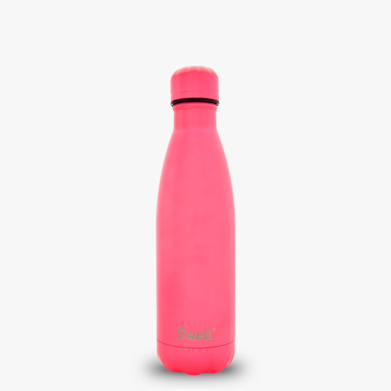 17oz Bikini Pink with Bikini Pink Cap S'well Bottle