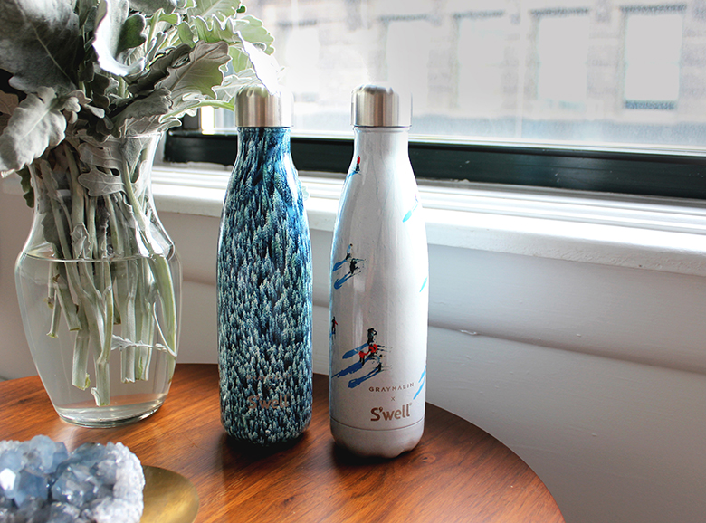 S'well insulated water bottle collaborate with Gray Malin for a limited edition artist collection