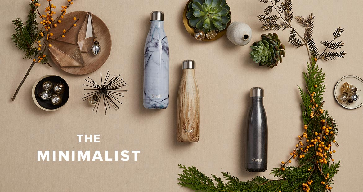 S'well Bottle Holiday Gift Guide 2016 The Minimalist
