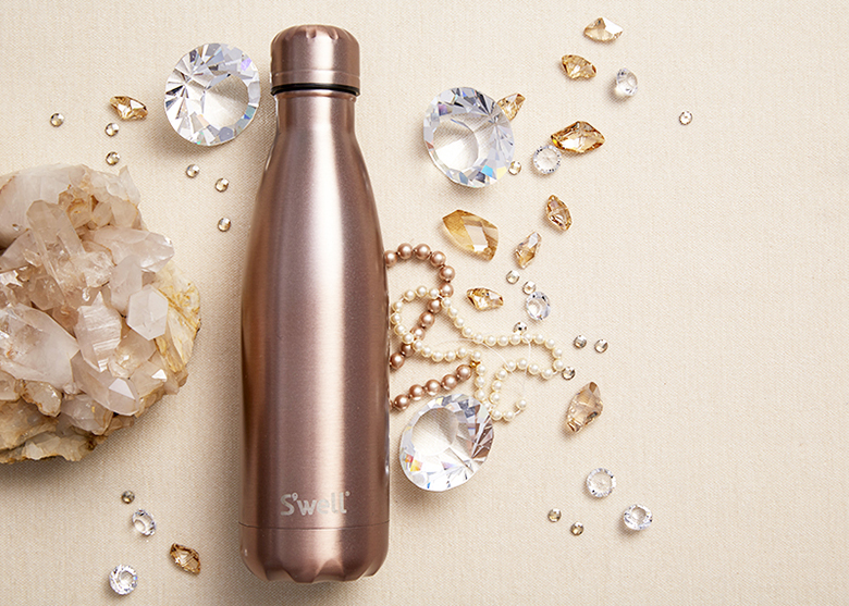 Introducing the S'well bottle Gem Collection featuring Pink Diamond