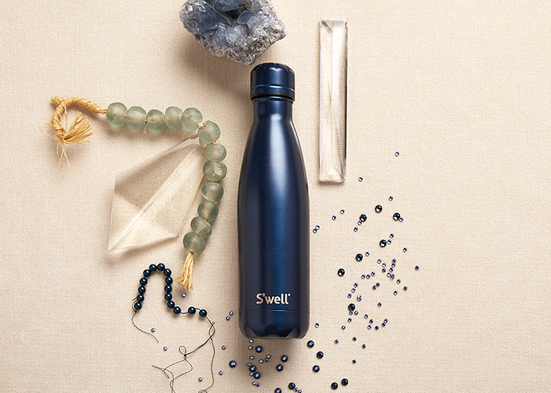 Introducing the S'well bottle Gem Collection featuring Sapphire
