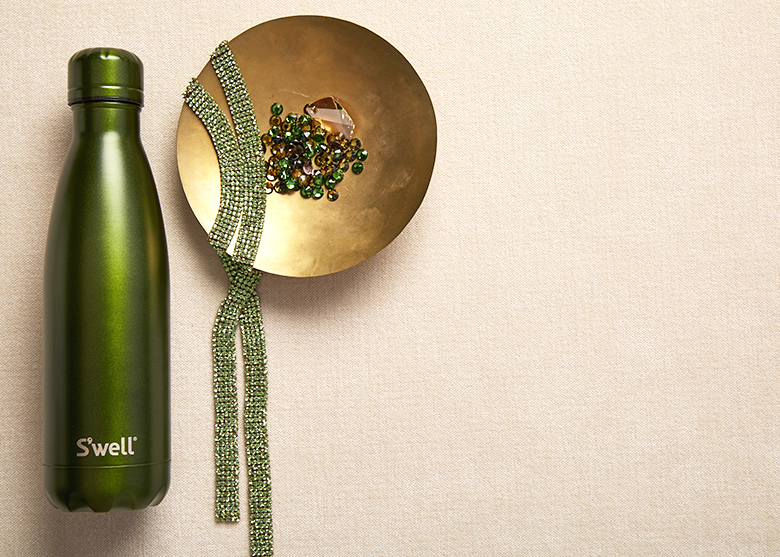 Introducing the S'well bottle Gem Collection featuring Emerald