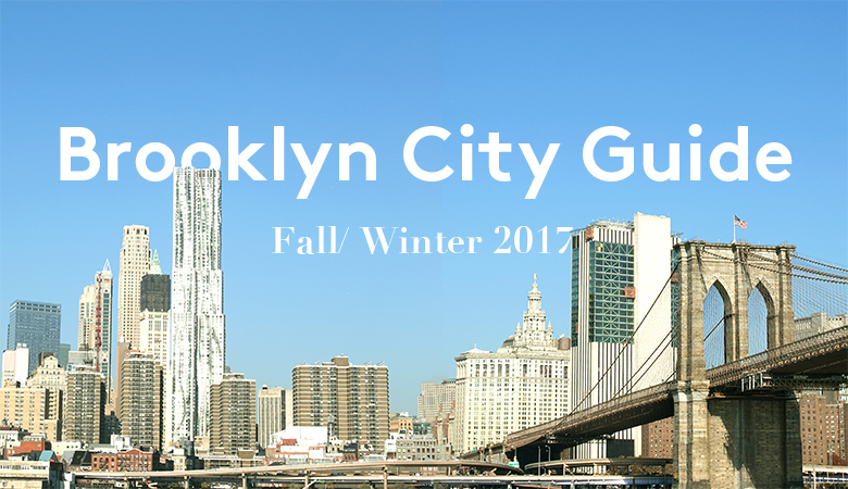 Follow S'well's Brooklyn Guide in celebration of our Fall/Winter 2017 Collection