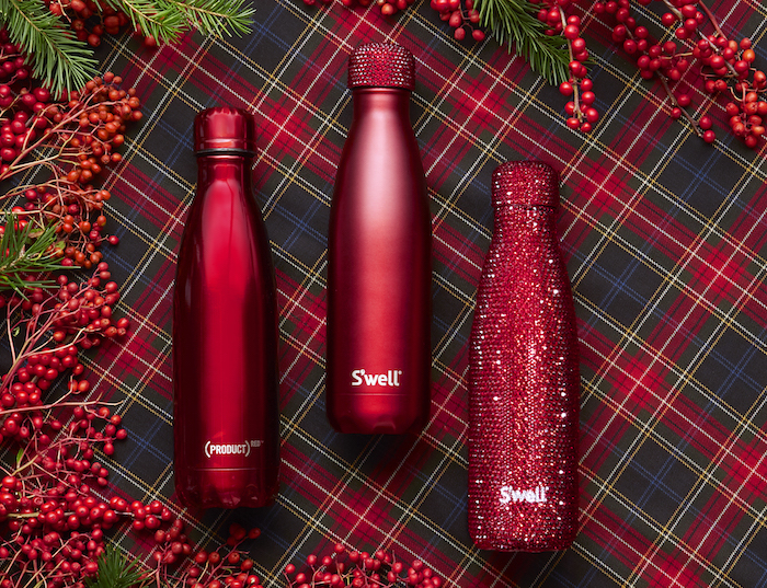 S'well's new (RED) bottles are gifts that give back