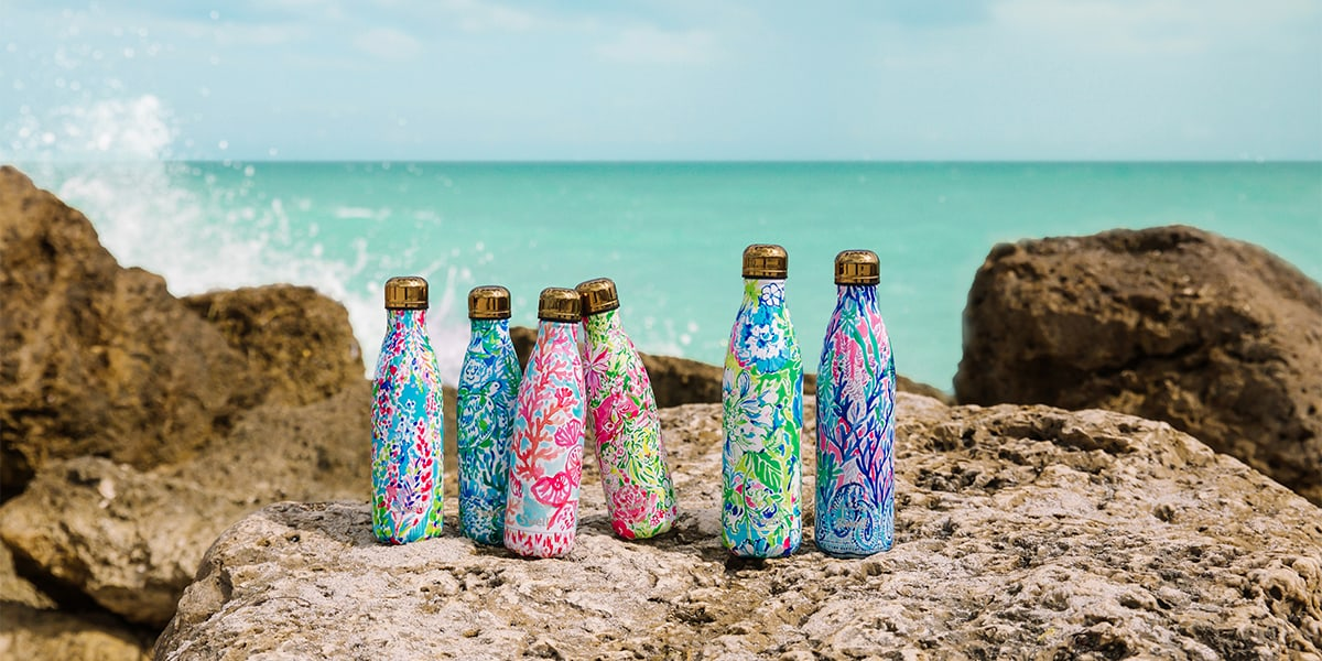 The NEW Lilly Pulitzer x S'well Collection is Here
