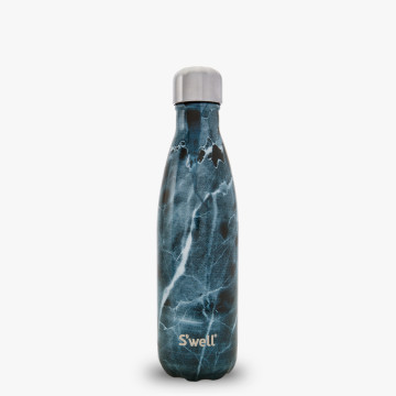 S Well 174 Official S Well Bottle Opal Marble Teal