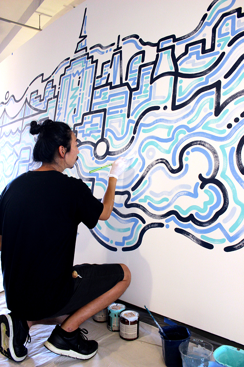 Artist Yoon Hyup opens up about his creative process, finding influence and what's next