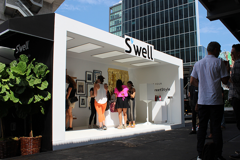 Recap of the S'well bottle New York Fashion Week Pop-Up Shop in the Meatpacking District