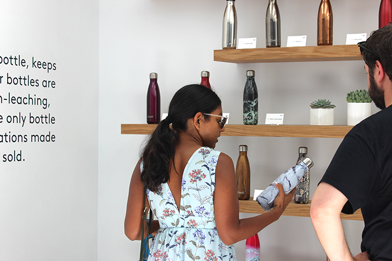 S'well hosts NYFW Pop-Up Shop in Meatpacking District to debut new Fall Collection water bottles