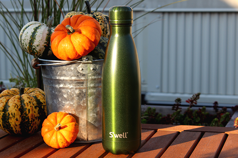 S'well water bottle celebrates Fall