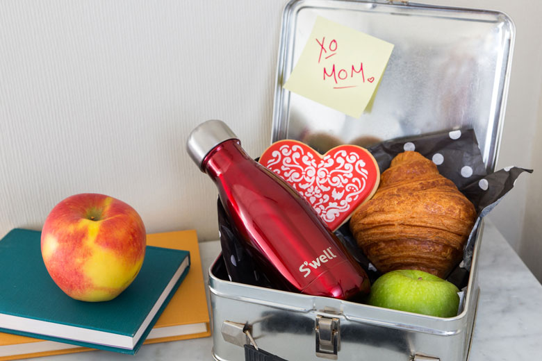 S'well celebrates Valentine's Day with the Rowboat Red water bottle